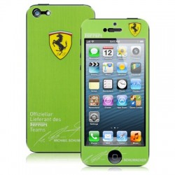 Ferrari Mønster / Color Shining & Krystal Beskyttende Skin Sticker til iPhone 5
