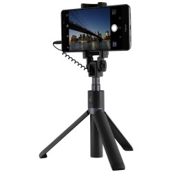 Honor Cellphone Tripod Stand Selfie Stick Audio Cable Control (CE Certified) Sort