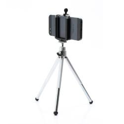 Universal Aluminum Tripod Stand Camera Holder for iPhone Samsung HTC Sony etc., Range: 5-8cm