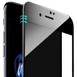 iPhone 6 Plus / iPhone 6S Plus Beskyttelsesglas Full Coverage 4D 9H - Sort