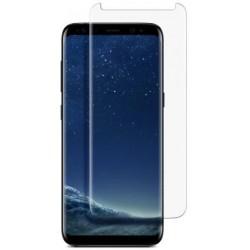 Samsung Galaxy S8+ Beskyttelsesglas Full Covered 3D - Gennemsigtig