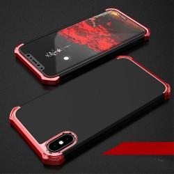 Apple iPhone X COCOSE Kylin Aftageligt 3-i-1 Plastik Cover Sort / Rød
