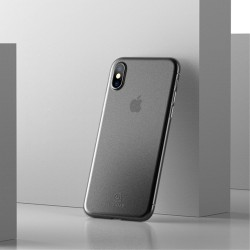 Apple iPhone X USAMS Soft Ulvratynd Plastik Cover Hvid