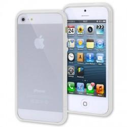 Linear EX SGP Case Plastik Kombination Bumper med Knapper til iPhone 5 - HVID