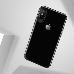 Apple iPhone X USAMS Drop-proof Klar TPU Cover Sort