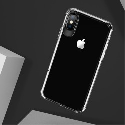 Apple iPhone X USAMS Drop-proof Klar TPU Cover Gennemsigtig