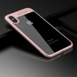 Apple iPhone X IPAKY Hybrid/TPU Cover Lyserød