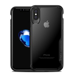 Apple iPhone X IPAKY Anti-drop PC/TPU Cover Sort