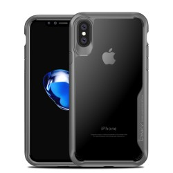Apple iPhone X IPAKY Anti-drop PC/TPU Cover Grå