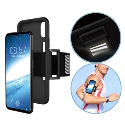 Apple iPhone X C-KU Sport Running Armband Cover Sort