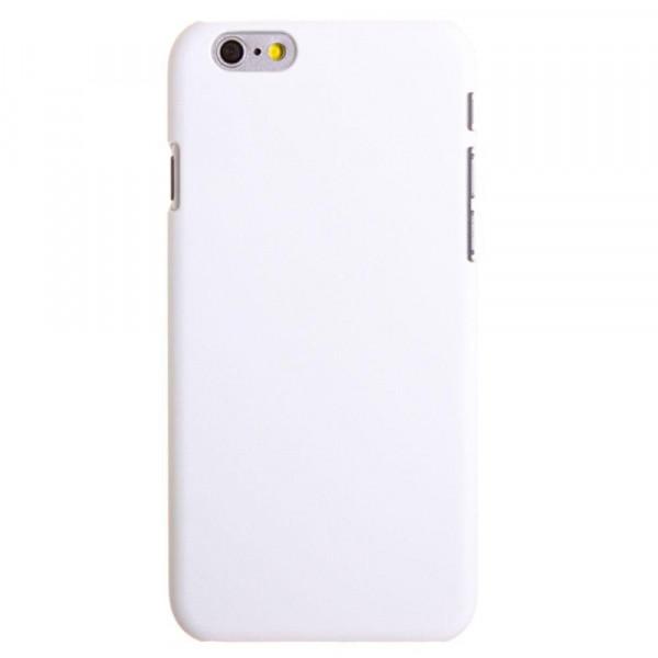 High Quality Ægte Farve Krystal Cover til iPhone 6 (Hvid)