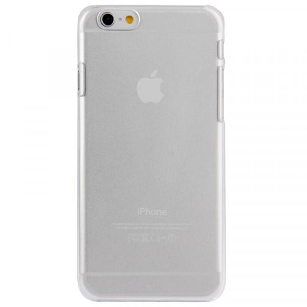 High Quality Ægte Farve Krystal Cover til iPhone 6 (Gennemsigtig)