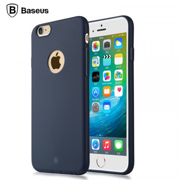 Apple iPhone 6 / 6S BASEUS Mousse TPU Protective Case Sort