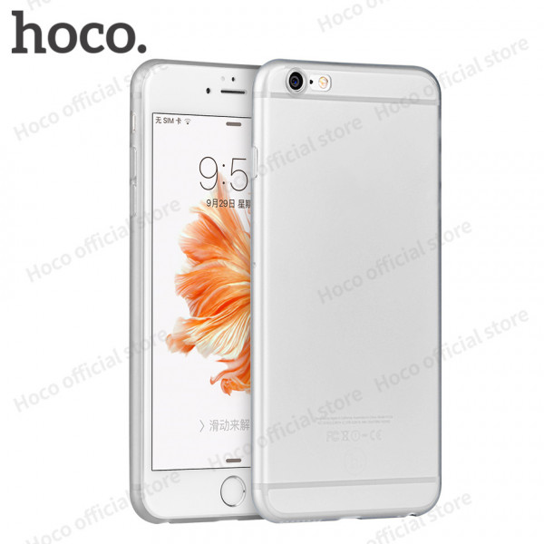 Apple iPhone 6 6S HOCO Ultra Thin Series TPU Cover Gennemsigtig