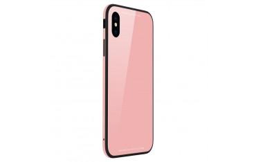 iPhone X SULADA Drop-Proof Hybrid Cover Lyserød