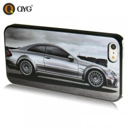 QYG - Mercedes Benz - Høj Kvalitet Plastik Cover  til iPhone 5/5S