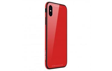 iPhone X SULADA Drop-Proof Hybrid Cover Rød