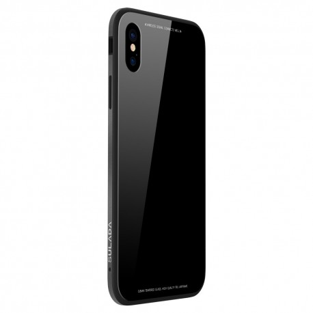 iPhone X SULADA Tempered Glass  Drop-proof Hybrid Cover Sort
