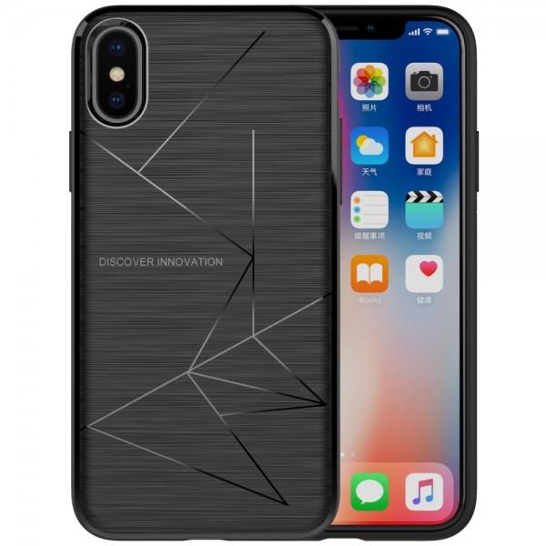 iPhone X NILLKIN Magic understøtter Qi trådløs opladning TPU