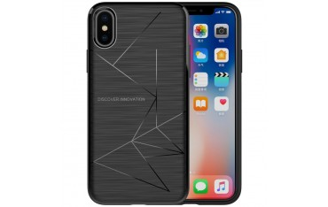 iPhone X NILLKIN Magic TPU Cover Qi Trådløs Kompatibel