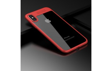 iPhone X IPAKY Hybrid/TPU Cover Rød