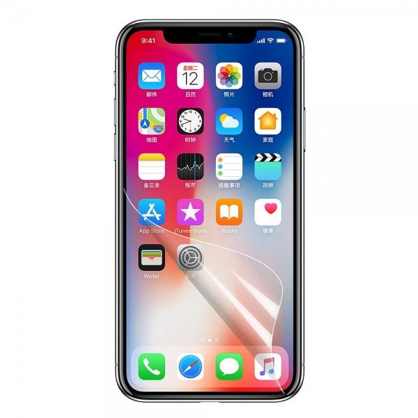 iPhone X Mirror Clear Beaskyttelsesfolie