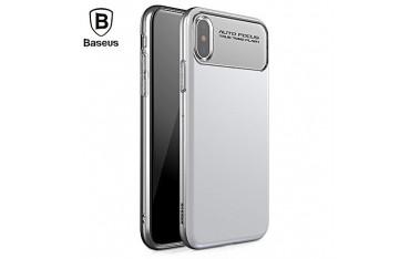 iPhone X BASEUS Slim Lotus TPU Cover Hvid