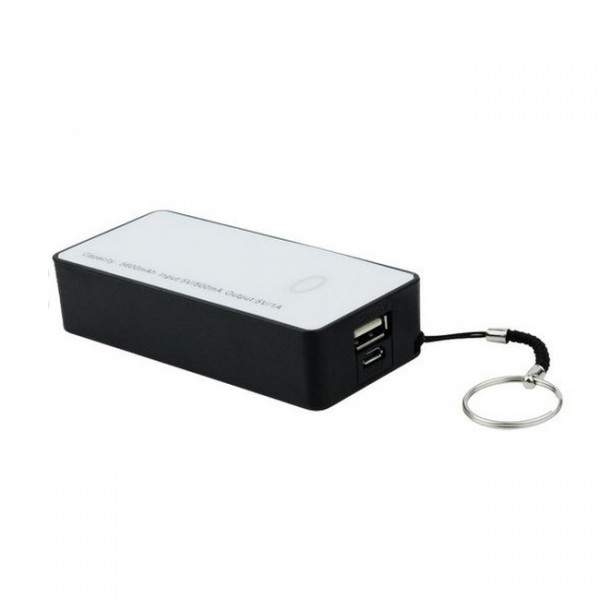 Hoox Magic Stone 6000mAh Power Bank (Rød)