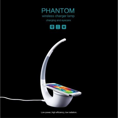 NILLKIN Phantom QI Standard Trådløs Oplader med LED Bordlampe