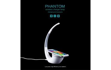 NILLKIN Phantom QI Standard Trådløs Oplader Bordlampe med LED