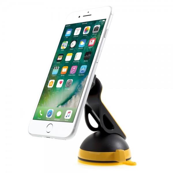 Universal Magnetisk Mobilholder med Stand kit - Gul