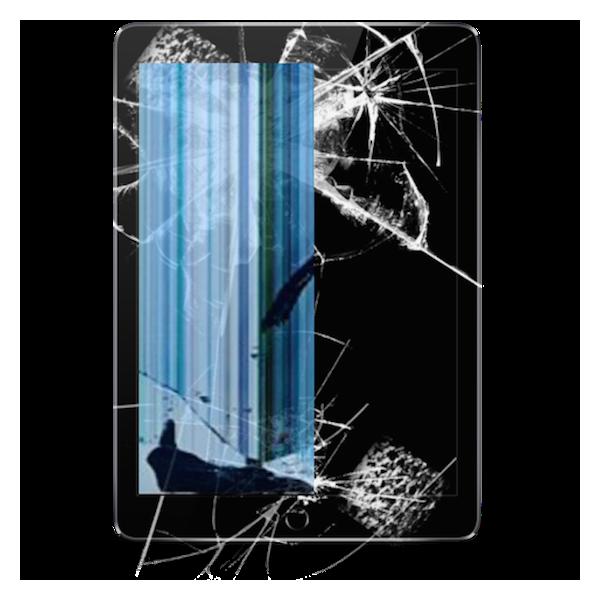 "Apple iPad Air 9.7"" Glas incl Touch Skærm Udskiftning - SORT"