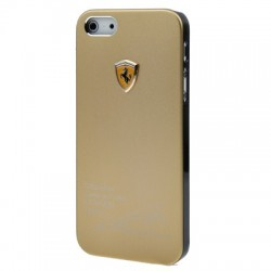 Ferrari Metal Cover  til iPhone 5/5S - Cooper