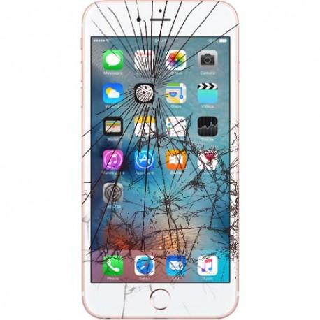 Apple iPhone 7 LCD samt Touch Glas Udskiftning Sort