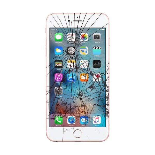 Apple iPhone 7 LCD samt Touch Glas Udskiftning Hvid