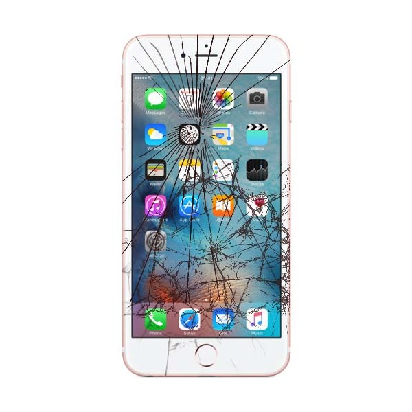 Apple iPhone 7 LCD samt Touch Glas Udskiftning Sort