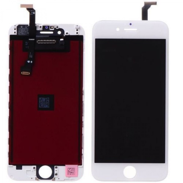 AAA quality Display Screen assembly til iPhone 6 (Hvid)
