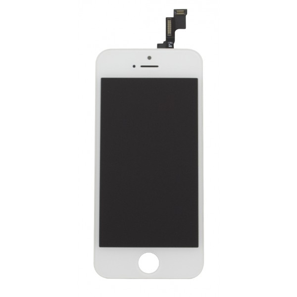 iPhone 5S LCD touchpanel Grade A++ (Hvid)
