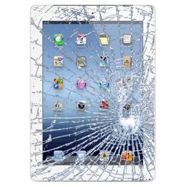 Udskiftning af iPad 2 Glas inkl. Touch Skærm (Sort)