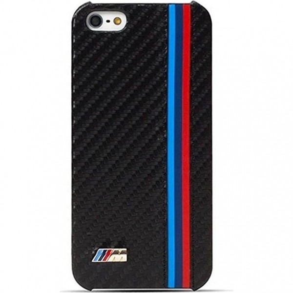 BMW M Racing Carbon Cover til iPhone 6 / 6S - Sort