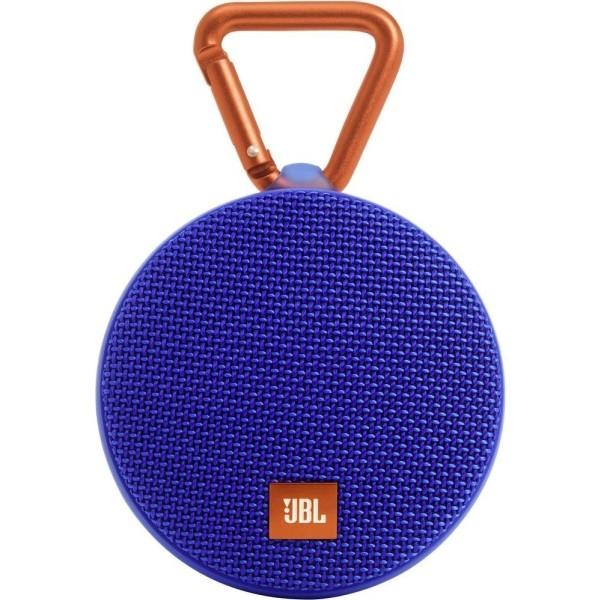 JBL Clip 2 Bærbar Bluetooth-højttaler - Blå