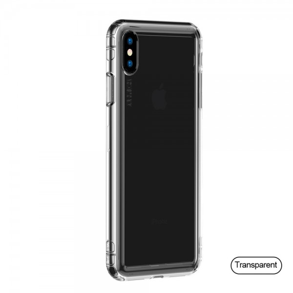 iPhone XS BASEUS Safety Airbags TPU Cover- Gennemsigtig