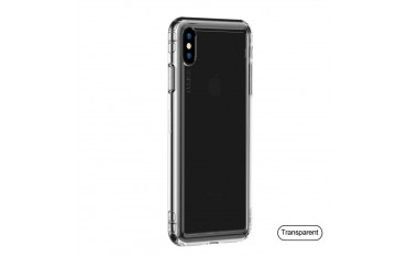 iPhone X / XS BASEUS Safety Airbags TPU Cover - Gennemsigtig