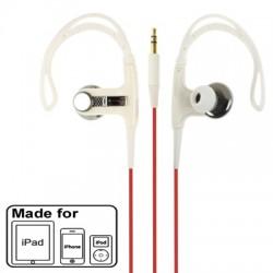 High Performance On-Ear Sport Hovedtelefoner - Hvid