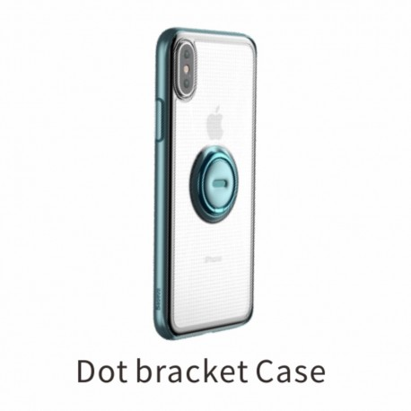 iPhone XS BASEUS TPU Cover med Kickstand - Blå