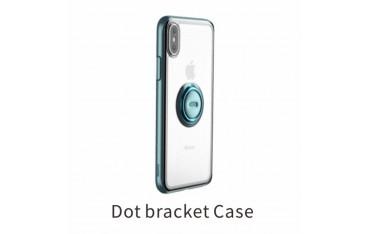 iPhone XS / X BASEUS TPU Cover med Kickstand - Blå