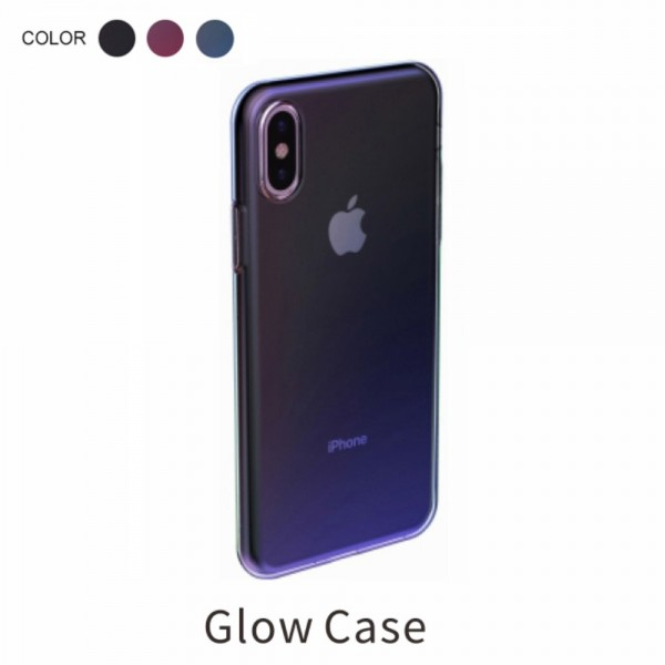 iPhone XS BASEUS Farve TPU Cover - Sort
