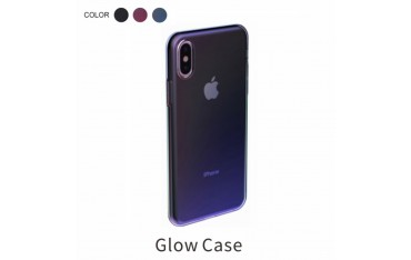 iPhone X / XS BASEUS Regnbue TPU Cover - Sort