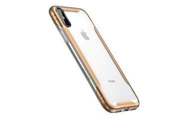 iPhone X / XS BASEUS Armor Series Hybrid TPU Cover Guld