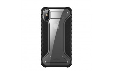 iPhone XS / X BASEUS Michelin Series Silikone Cover - Sort